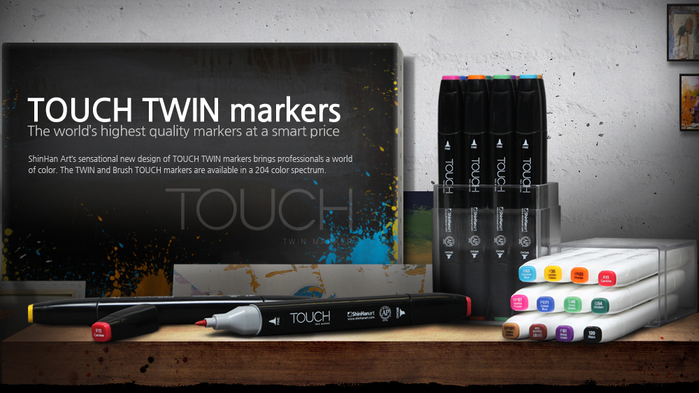 TOUCH TWIN markers